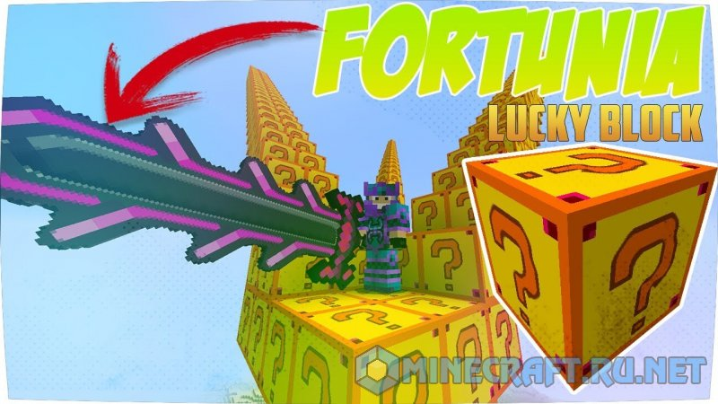 Minecraft Lucky Block Fortunia