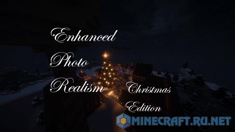 Minecraft Enhanced Photo Realism: Christmas Edition