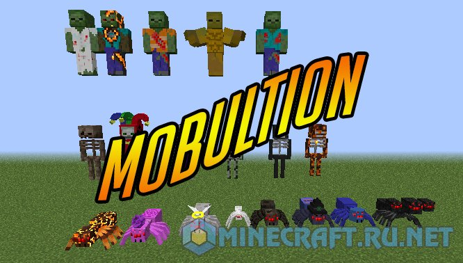 Minecraft Mobultion