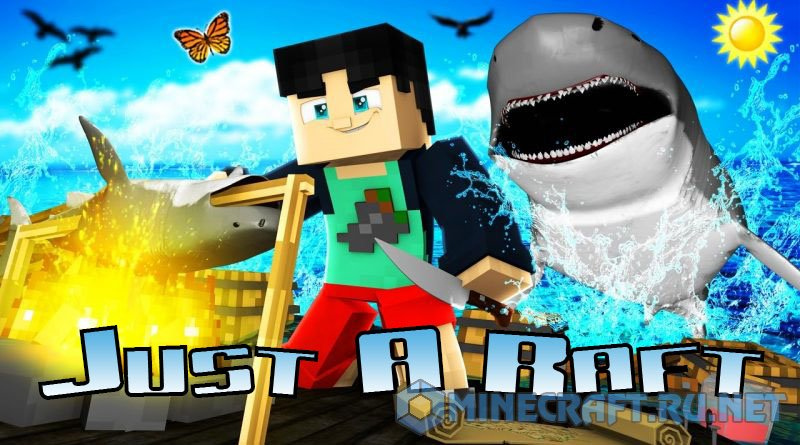 Minecraft Just A Raft Mod