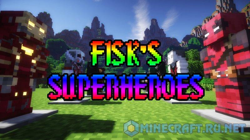 Minecraft Fisk's SuperHeroes