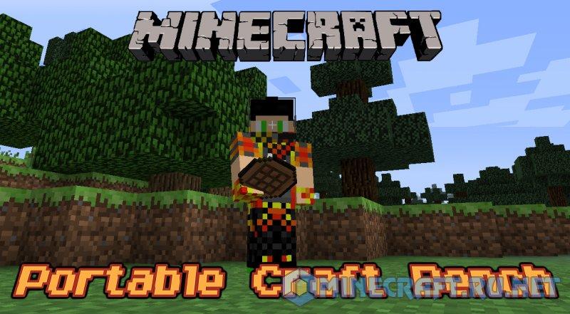 Minecraft Portable Craft Bench