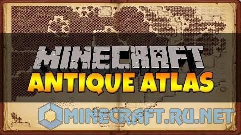 Minecraft Antique Atlas