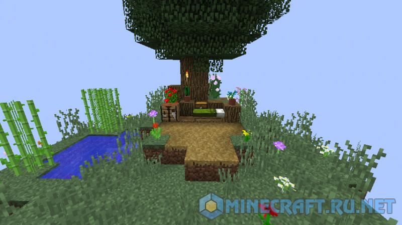 Minecraft SkyLand Challenge