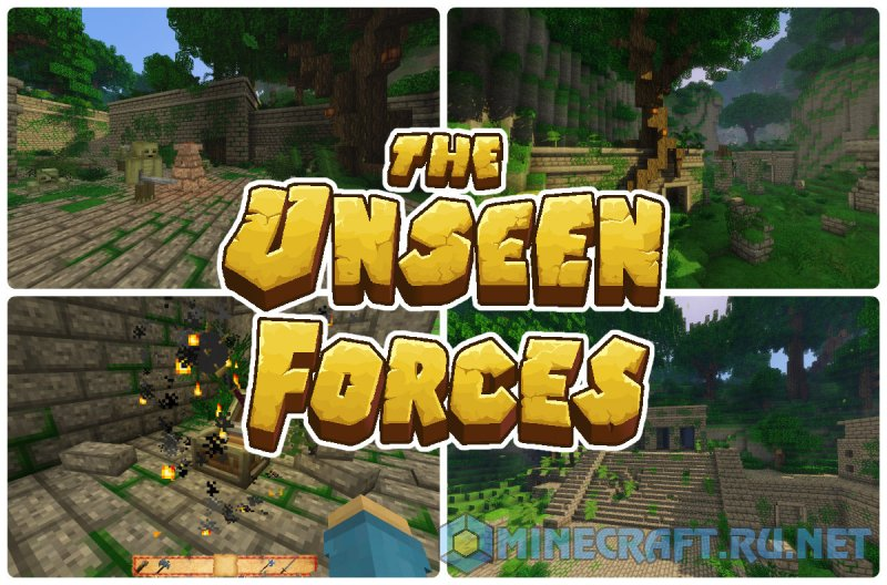 Minecraft The Unseen Forces III